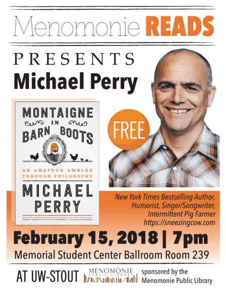 Michael Perry speaking event