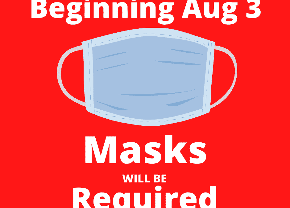 Masks Required to Visit Library