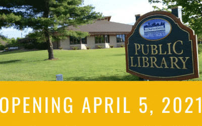 Library Set To Reopen April 5