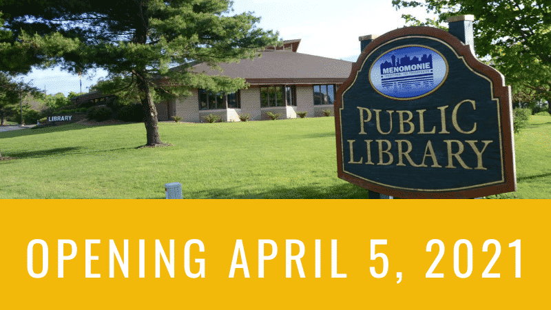 Library reopening April 5