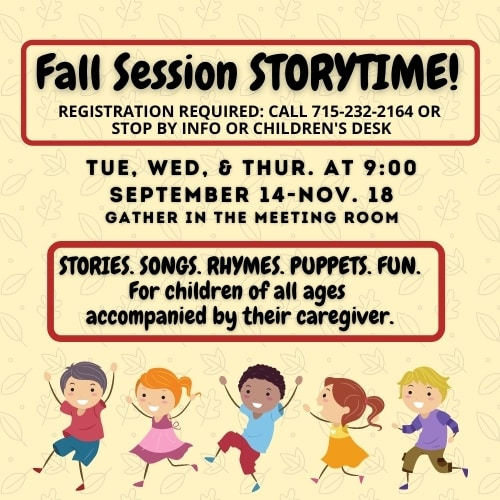 Fall 2021 Storytime